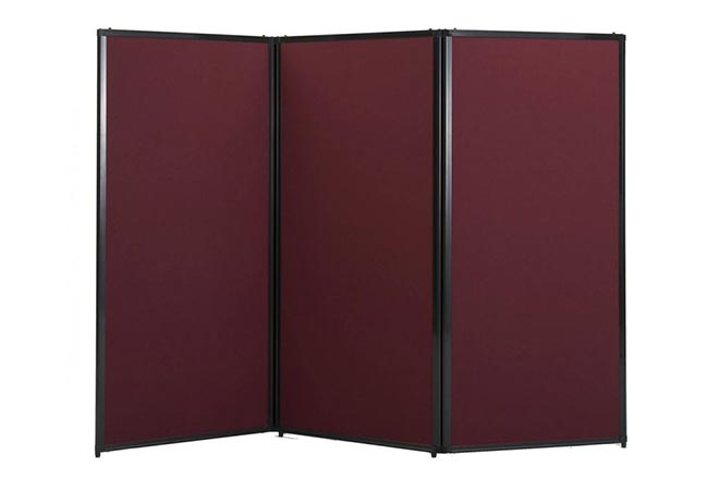 Privacy screen portable partitions company for Temporary privacy screen