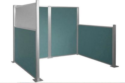Modular Wall - Blue cubicle