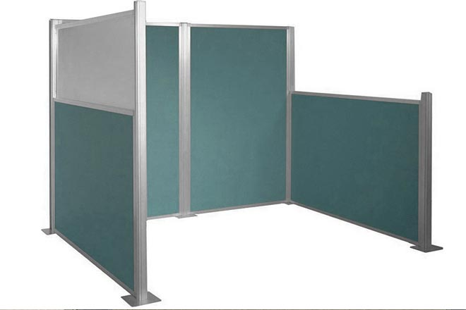 Modular Office Partitions ~ Modular wall portable partitions company