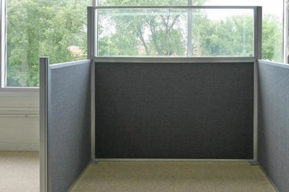 Modular Wall - Grey cubicle