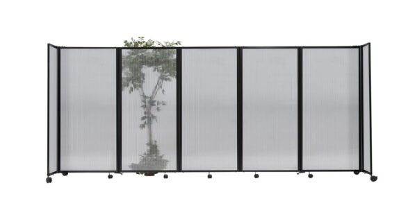 An image of the Sliding Polycarbonate Partition