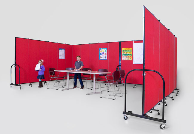 ScreenFlex FreeStanding portable partitions