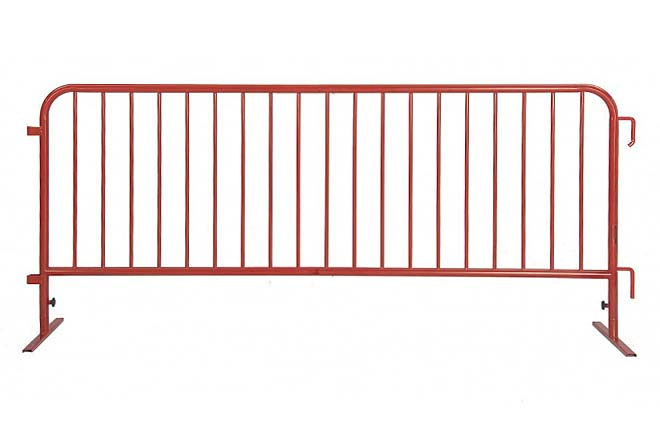 Powder Coated Steel Barricade