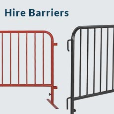 Hire Barriers