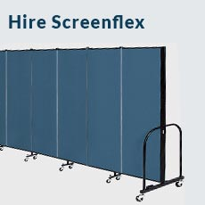 Hire Screenflex