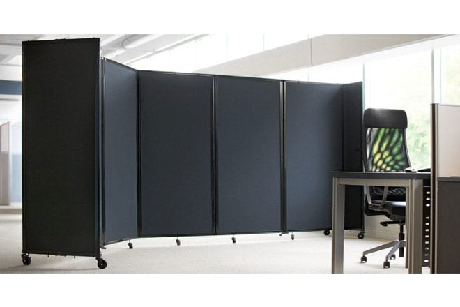 Image of a Room Divider 360 in situ.