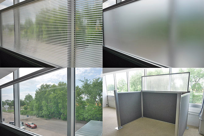 Modular Wall - Glass options