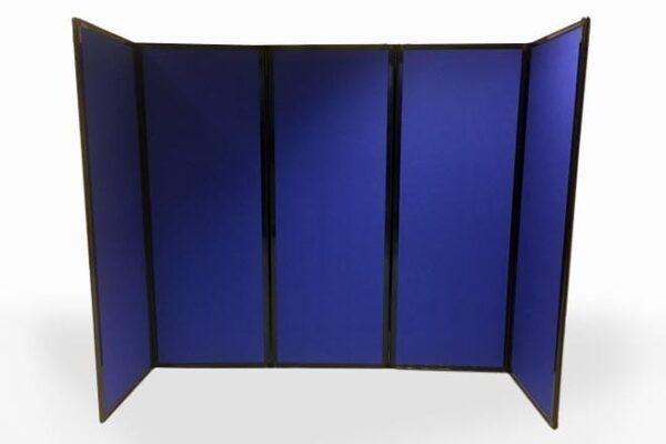 Mobile Divider - 5 panel in blue