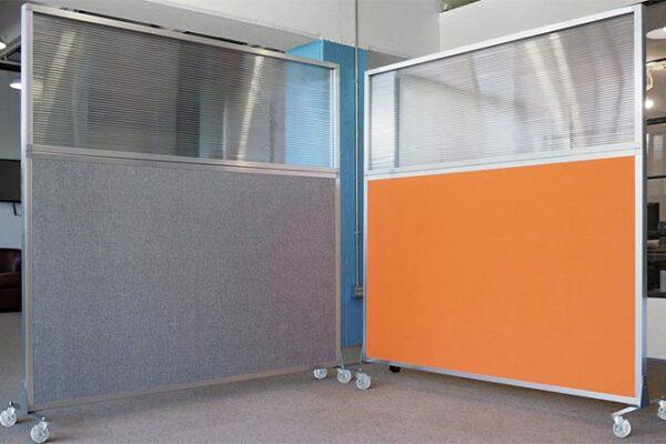 Mobile Office Divider Plus