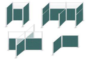 Modular Wall - Multiple configurations