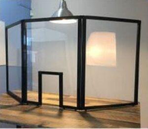 Countertop Tri-Panel Screen