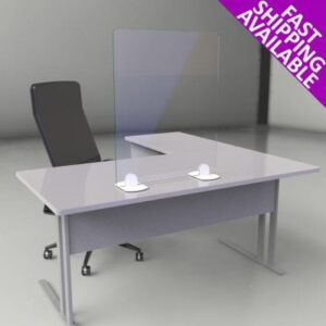 Free Standing Laminated & Toughened Glass Counter Top Sneeze & Cough Guard