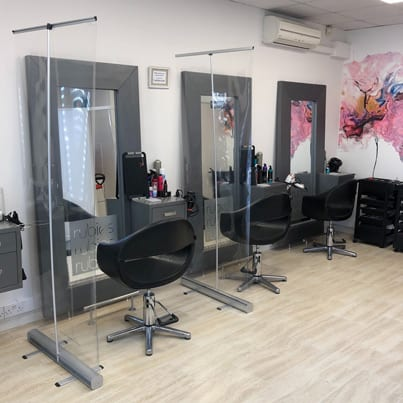 Image of empty hair and beauty salon