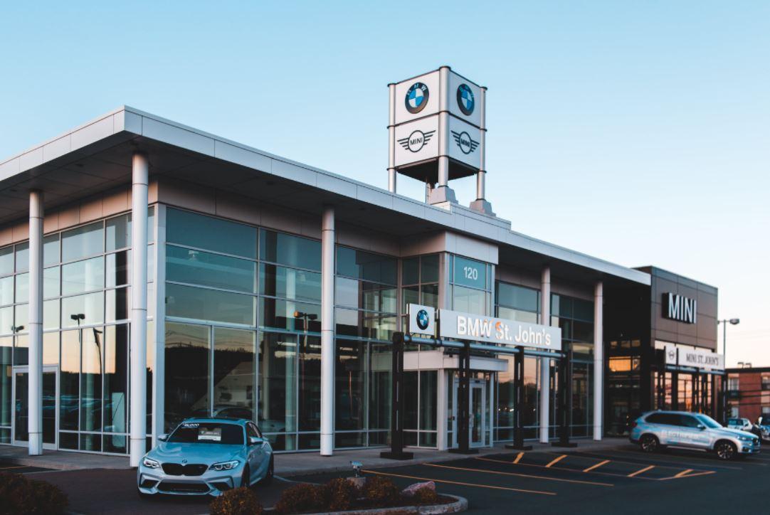 An image of a Car Dealership