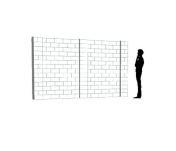 EverBlock Wall Kit 30.48cm x 17.78cm