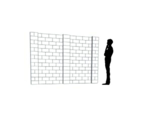 EverBlock Wall Kit 25.4cm x 17.78cm