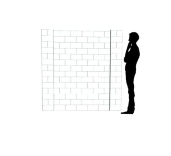 EverBlock Wall Kit 2.13m x 2.13m