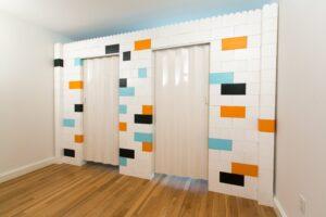 mage of everblock folding door