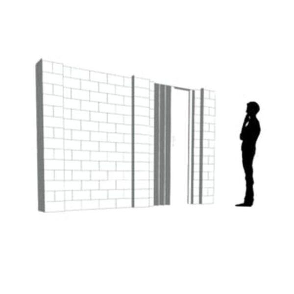 EverBlock Wall Kit with Door 36.57cm x 21.33cm