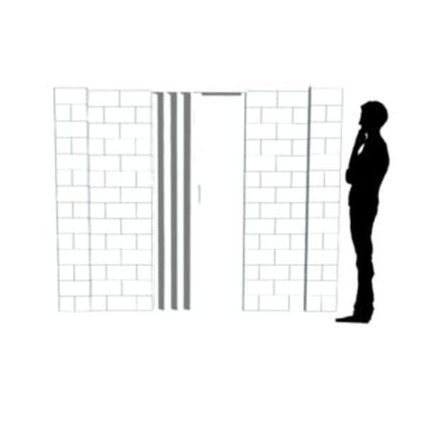 EverBlock Wall Kit with Door 22.86cm x 17.78cm