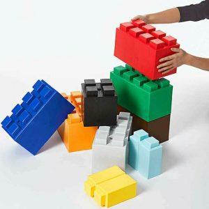 EverBlock Classroom Play Mixed Block Set
