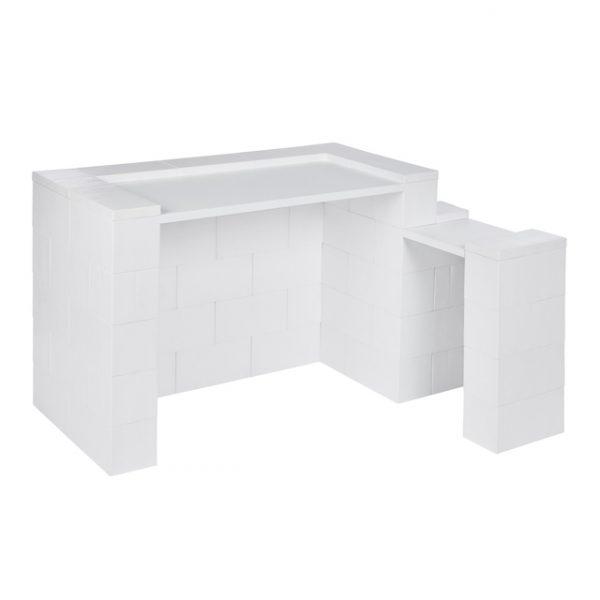 EverBlock Simplicity Desk Kit with Return
