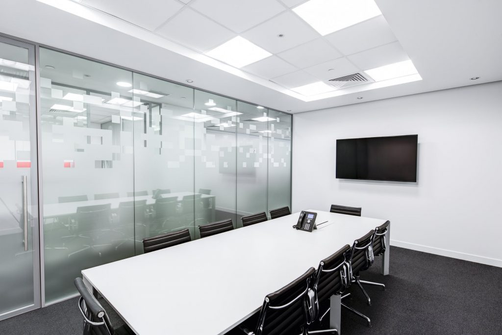 An image of an office