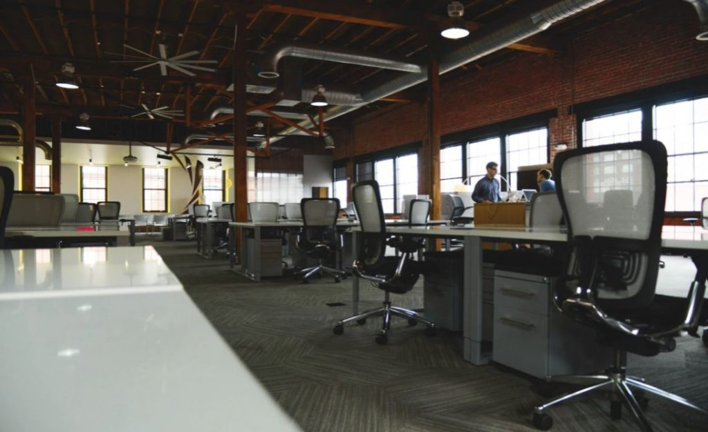 Image of an office space.